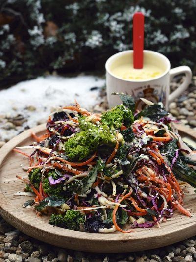 Salată delicioasă de iarnă à la Jamie Oliver - travelandbeauty.ro