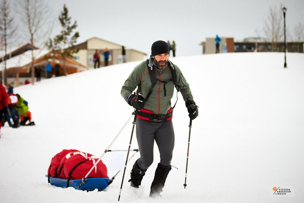 Tibi Ușeriu la Yukon Arctic Ultra