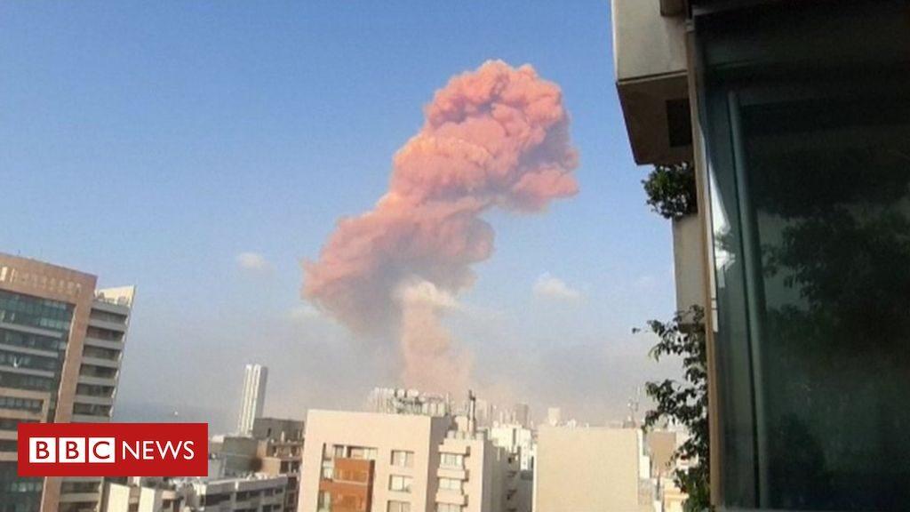 explozie masiva in Beirut